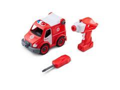 Caminhão de Bombeiros Multikids BR1086 Resgate City Machine - 0