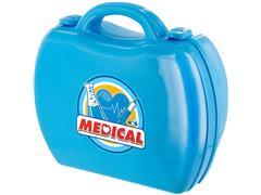 Maleta Multikids BR774 Workshop Jr Médico com 16 Itens Azul - 1