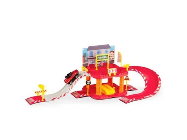 Brinquedo Garagem Bombeiro Multikids BR1235 Express Wheels 40 Pecas