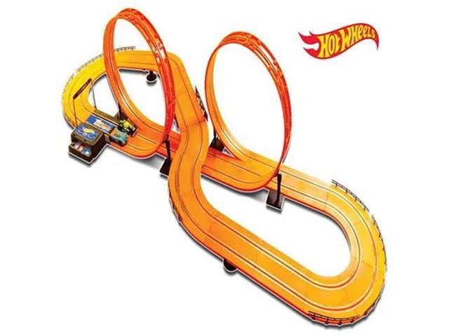 Pista Multikids Hot Wheels Track Set Deluxe 2 Carrinhos + 2 Controles