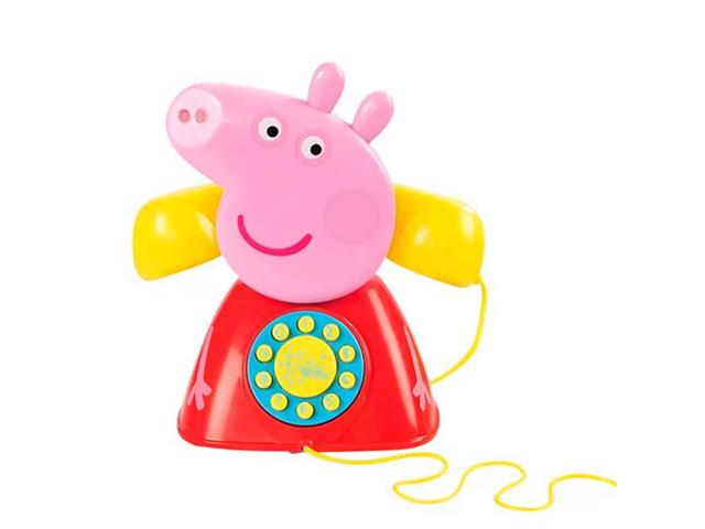 Brinquedo Multikids BR1318 Telefone Peppa Pig