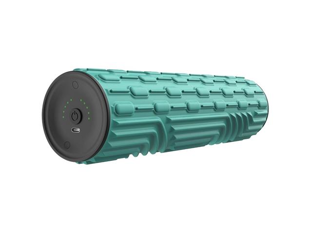 Rolo Massageador Eletrônico Acte R33-V para Liberação Miofascial Verde