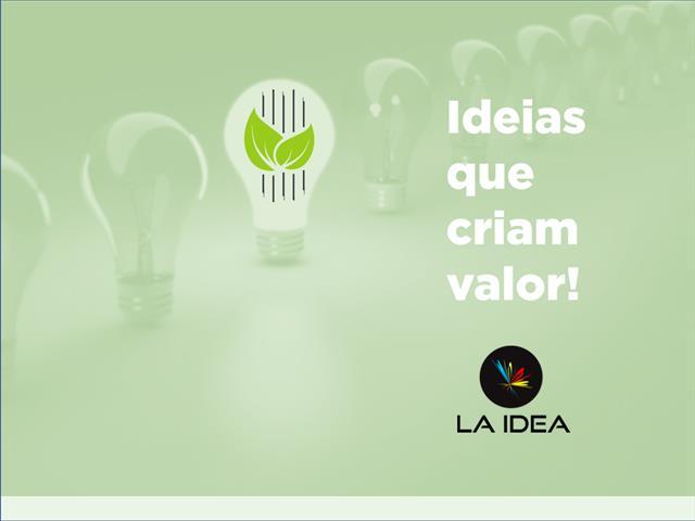Gerenciamento de mídias sociais e logomarca - La Idea Comunicação