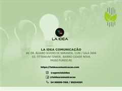 Gerenciamento de mídias sociais e logomarca - La Idea Comunicação - 2