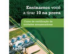 Curso de Certificação de Unidades Armazenadoras - AAGRO (Customizado)