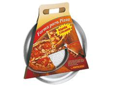 Assadeira/Forma para Pizza Fortaleza Alumínio com Espátula - 2