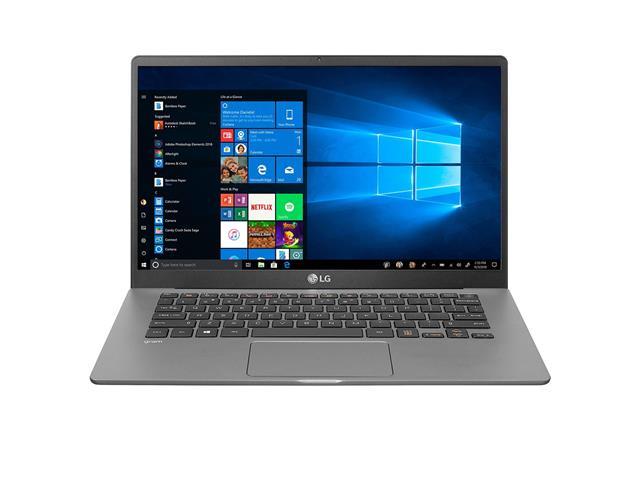 """Notebook LG Gram Intel Core i5 10ª 8GB 256GB SSD LED 14"""" Titânio Win10"""