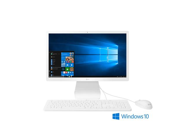 "Computador All in One LG 21.5"" FullHD Intel Celeron 4GB HD 500GB Win10"