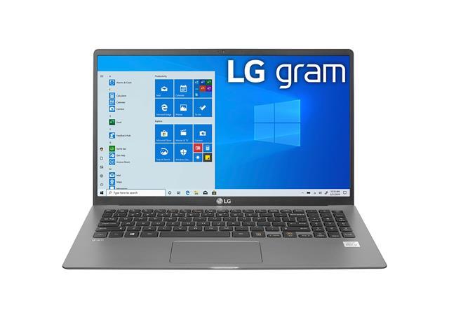 """Notebook LG Gram Intel Core i5 10ª 8GB 256GB SSD LED 15,6"""" Titânio W10"""