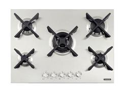 Cooktop a Gás Tramontina Design Collection Penta Inox Flat 5 GX 70