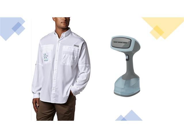 Camisa Grande Columbia Impulso Bayer + Vaporizador de Mano B+D