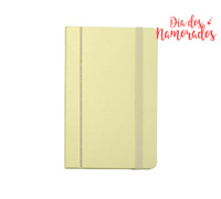 Mini Caderno DSE Amarelo decorado com cristais da Swarovski®