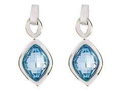 Brinco DSE Aquamarine decorado com cristais da Swarovski®