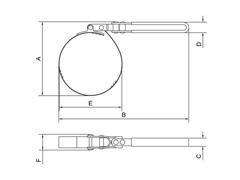 Chave para Filtro de Óleo Tramontina 133-146 mm - 2