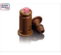 COMBO BICO PULV JACTO LEQUE AVI TWIN 11005 MARROM (PCT C/ 20 UNIDADES)