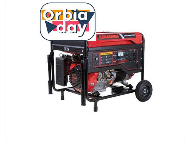 Gerador Kawashima GG6000-ET220 a gasolina 6,0KW TRIFASE