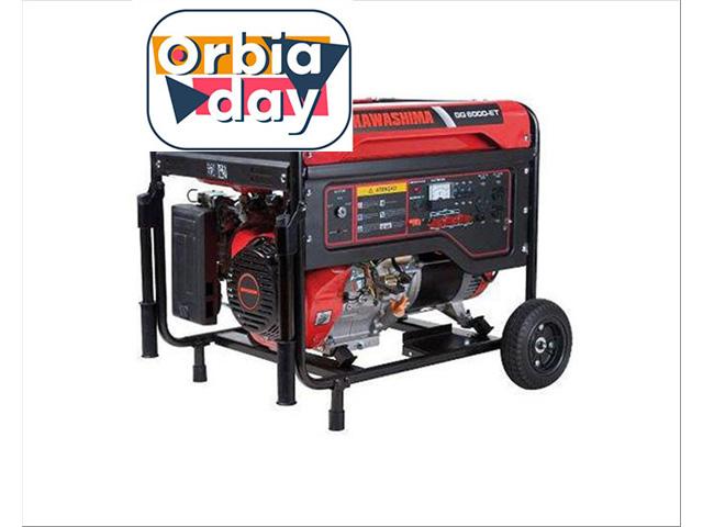 Gerador Kawashima GG6000-ET380 a gasolina 6,0KW TRIFASE