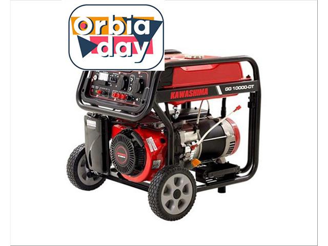 Gerador Kaeashima GG10000DT a gasolina  9,0KW TRIFASE 220/127