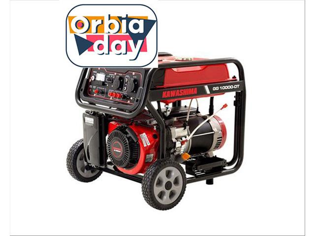 Gerador Kaeashima GG10000DT a gasolina  9,0KW TRIFASE 380/220