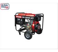 Gerador DG-6000ET Trif 220V  diesel 5,0kw  motor 406cc - 0