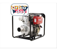Motobomba Kawashima DW400AE 4motor diesel 418cc 10hp - 0