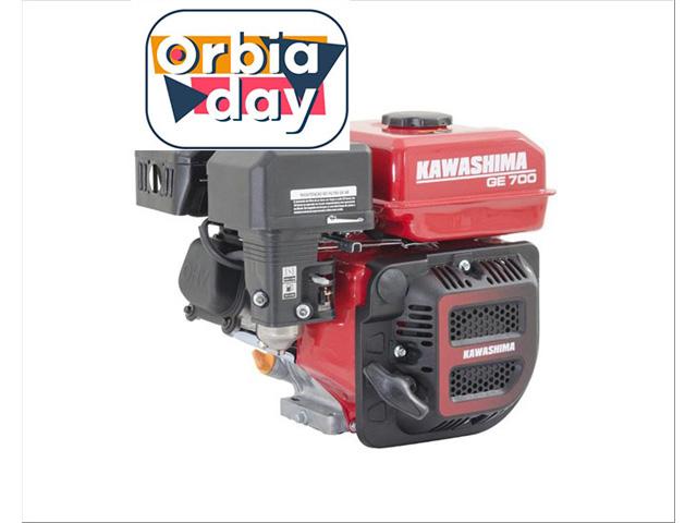 Motor Estac. Kawashima GE700 a gasolina 212CC 7HP