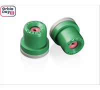 Combo Bico Pulverizador Jacto Leque AVI OC 80015 Verde 20 unidades