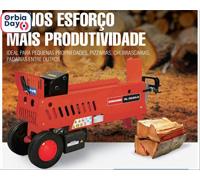 Combo Rachador Lenhas RL3520E 220V 3HP + Cunha Cruzeta