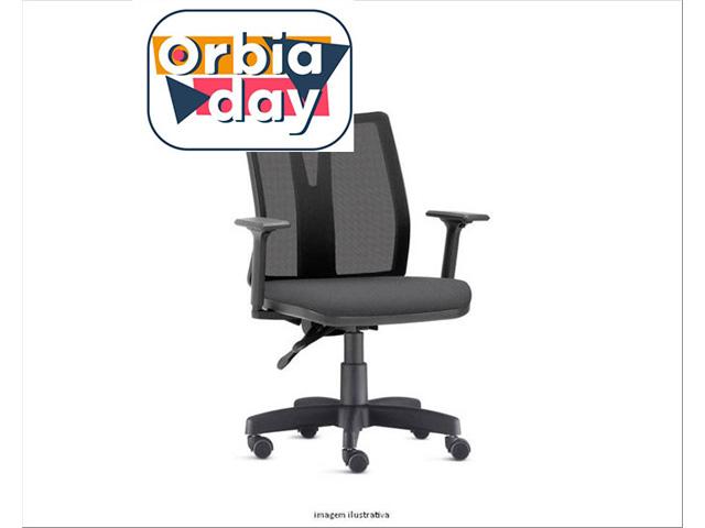 Cadeira Addit Operacional Cinza Rodízio Piso Duro