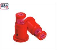 Combo  Bico Pulverizador Jacto Leque MVI 04 Vermelho 10 unidades
