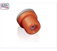 Combo  Bico Pulverizador Jacto Cone JCI 01 Laranja 25 unidades
