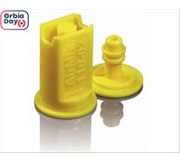 Combo Bico Pulv Jacto Leque Airmix 11002 Amarela 25 Peças