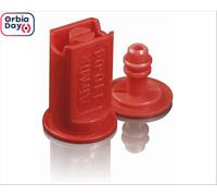 Combo Bico Pulv Jacto Leque Airmix 11004 Vermelha 25 Peças