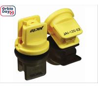 Combo Bico Pulv Jacto Jai 12002 Amarelo 25 Peças