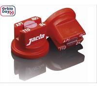 Combo Bico Pulv Jacto Leque Api 11004 Vermelha 25 Peças