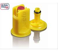 Combo Bico Pulv Jacto Leque Cvi 02 Amarelo 20 Peças - 0