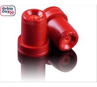 Combo Bico Pulv Jacto Cone Jfc 8004 Vermelho 25 Peças