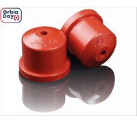 Combo Bico Pulv Jacto Cone Jhc 8004 Vermelho 25 Peças