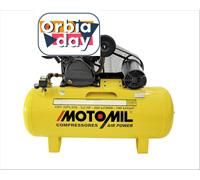 Compressor de Ar Motomil CMV-20PL/200 Air Power Trifásico Bivolt