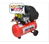 Compressor de Ar Motomil CMI-8.7/24BR 120LBS 2HP Monofásico Bivolt