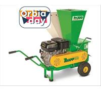 Titurador de Galhos Trapp BIO-300 com Motor Lifan 15HP à Gasolina