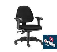 Cadeira Sky Operacional Preta Rodízio Carpete