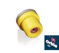 Combo  Bico Pulverizador Jacto Cone JCI 02 Amarelo 25 unidades