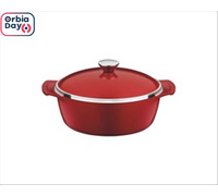 Caçarola Tramontina Lyon Design Collection Vermelha 26 cm