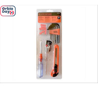 kit de ferramentas casa e escritorio Black&Decker 31 pecas