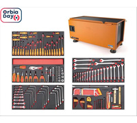 Caixa Ferramentas Tramontina PRO Pickup Box 500x1000x500mm 145 Peças