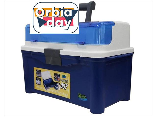 Maleta para Pesca PB Box 007 Pesca Brasil Azul