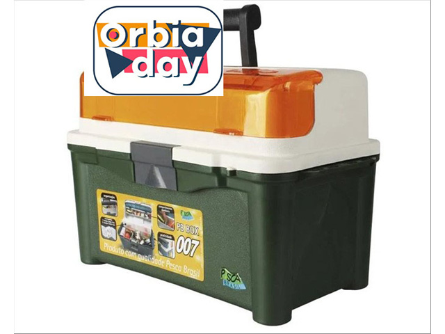 Maleta para Pesca PB Box 007 Pesca Brasil Verde