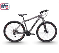 Bicicleta Track Bikes TB Trivo com Trava Guidão Aro 29 Grafite - 0