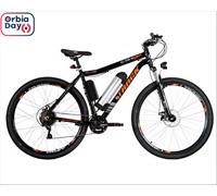 Bicicleta Elétrica Track Bikes MTB 21V Shimano 350W Aro 29 Preta - 0